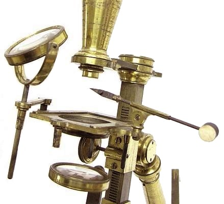R,B. Bate, Jones Most Improved type microscope, c. 1825