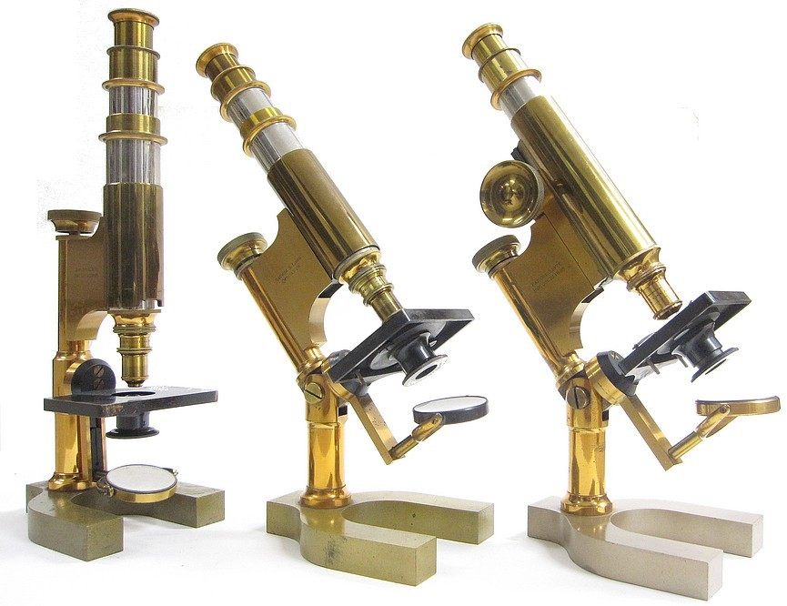 Bausch-Lomb_Harvard_microscope_three_versions.jpg
