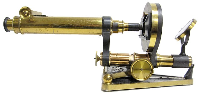 R. & J. Beck, London, # 6283. The Popular Model Binocular Microscope. c. 1872