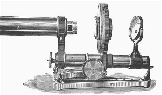 R. & J. Beck, London, The Popular Model Binocular Microscope.