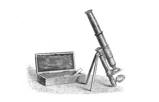 Pocket microscope: John Browning London #419