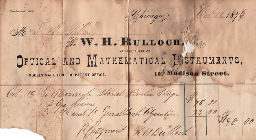 bulloch receipt