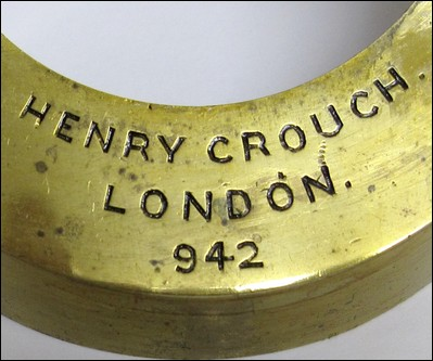 Henry Crouch, London, signature