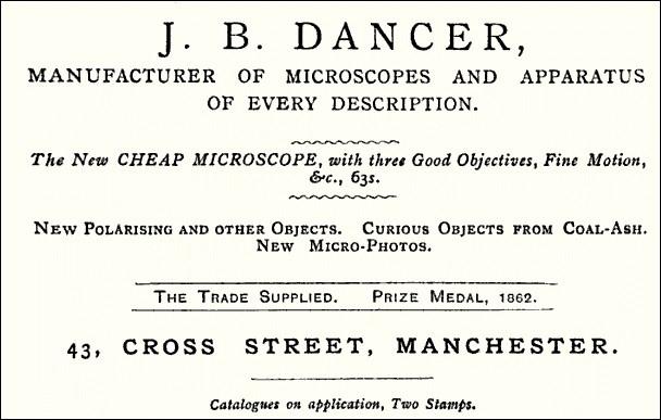 J.B. Dancer Optician ad