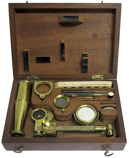 Dollond London. Gould type chest microscope, c.1830
