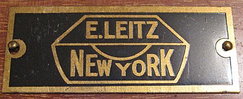 E. Leitz New York