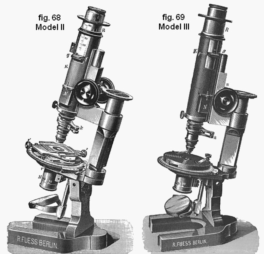 Fuess microscopes 1892