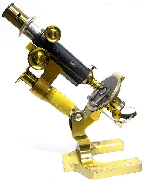 R. Fuess, Berlin, No. 290. Petrological and Crystallographic Microscope, c. 1885