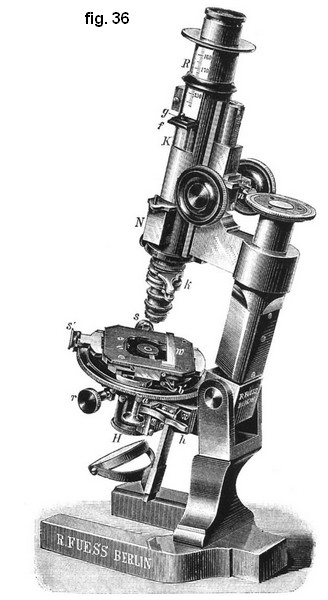 Fuess microscope No1 1890
