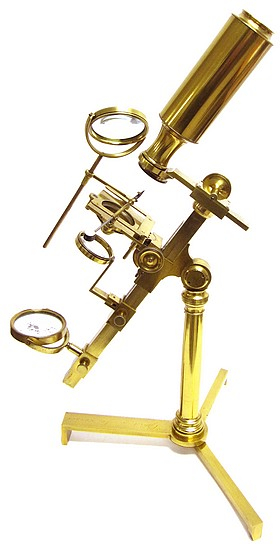 Gilbert & Sons, London, Jones Most Improved model microscope, c. 1815