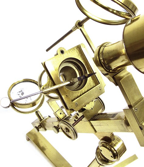 Gilbert & Sons, London, Jones Most Improved model microscope, c. 1820