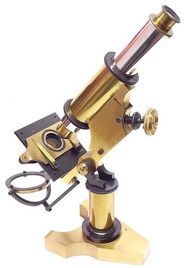 George L. Gowlland, Cambridge Mass. (attributed). Monocular Microscope
