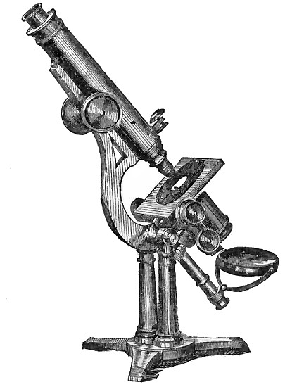 Made by Jos. Zentmayer, Philad. The Grand American model microscope