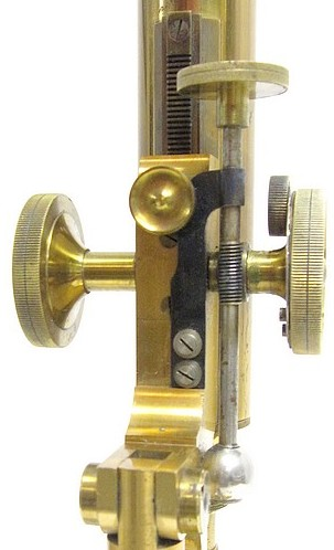 The Improved Griffith Club Microscope. Fine adjustment mechanism
