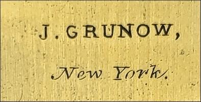 J. Grunow, New York
