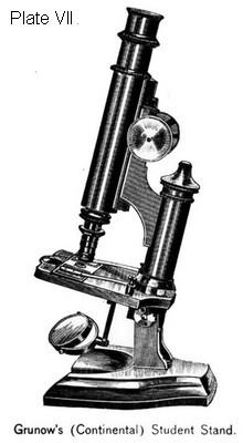 Grunow Continental Student microscope