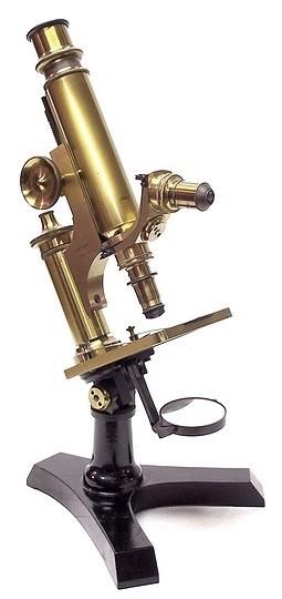 J. Grunow, New York No. 950 microscope