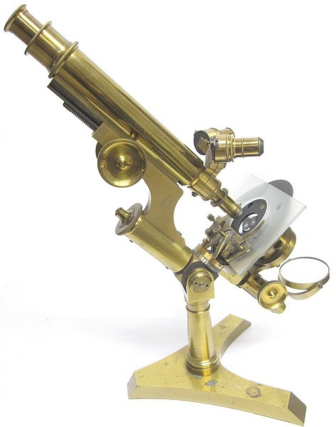 J. Grunow, New York No. 976 microscope