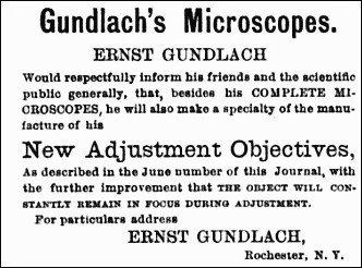 Gundlach 1878 advertisment