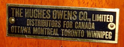 Hughes Owens Co.