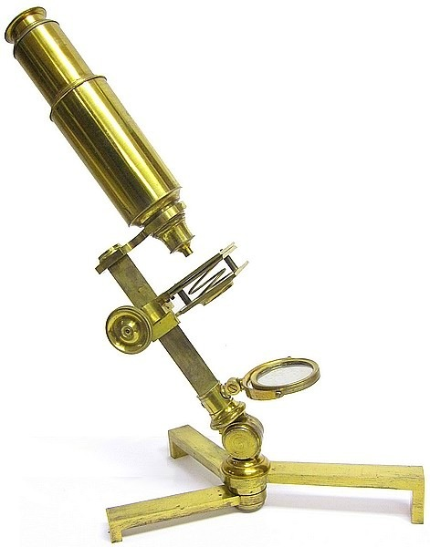 An Improved compound and single microscope with early Canadian history
