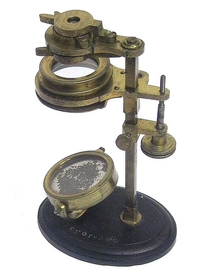 W. & S. Jones Holborn, London. Improved Botanical, or Universal, Pocket Microscope