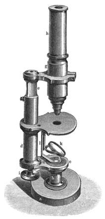 Kleines Mikroskop von Belthle