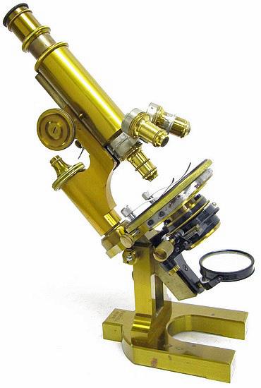F. Koristka, Milano #6827. Large Continental Microscope, c. 1900