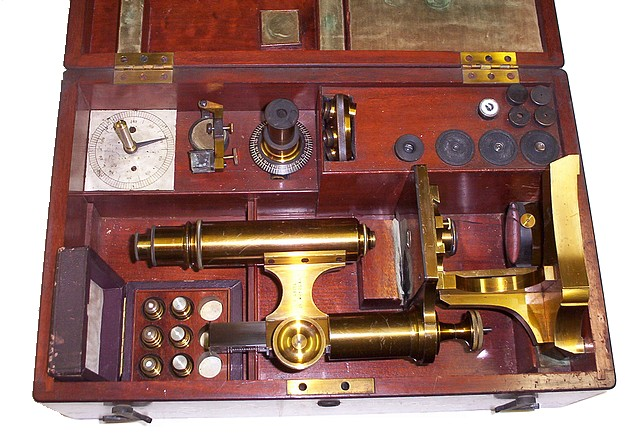 Leitz microscope No. 1751 c. 1874