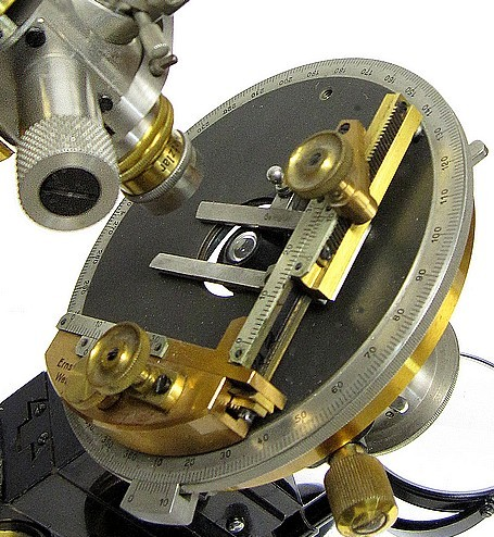E. Leitz, Wetzlar, No.�3025 The MOP model petrological microscope, c. 1925