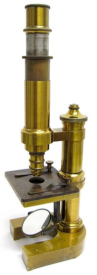 E. Leitz Wetzlar, No. 8750. Mittleres mikroskop - Stativ III, c. 1886