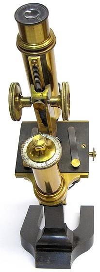 E. Leitz, Wetzlar, No. 7521. Microscope Stand 1a, c. 1885