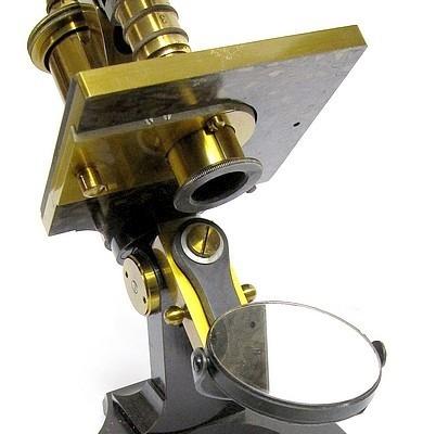 E. Leitz, Wetzlar, No. 7521. Microscope Stand 1, c. 1885, sub-stage