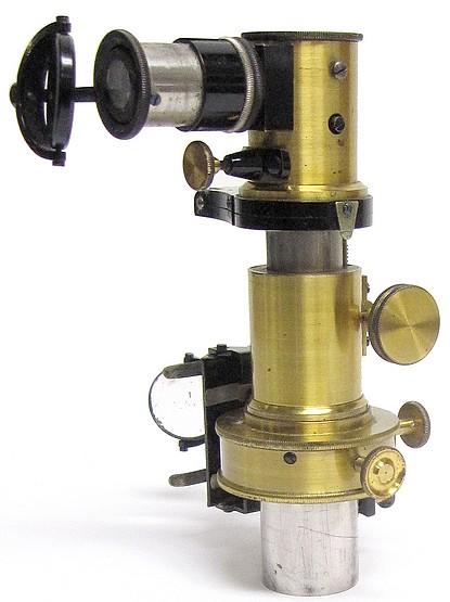 E. Leitz Wetzlar. Abbe type microspectroscope, c. 1915