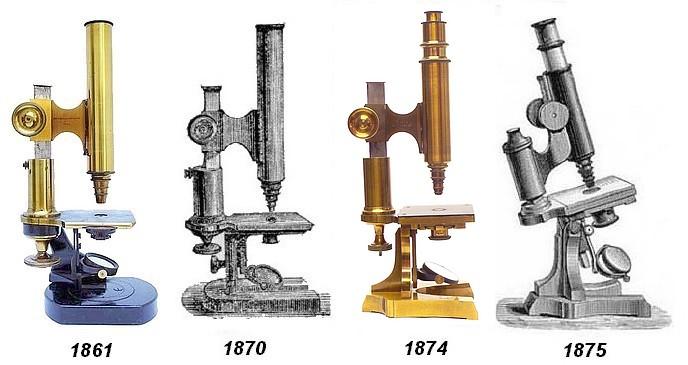 Leitz microscopes 1861-1875