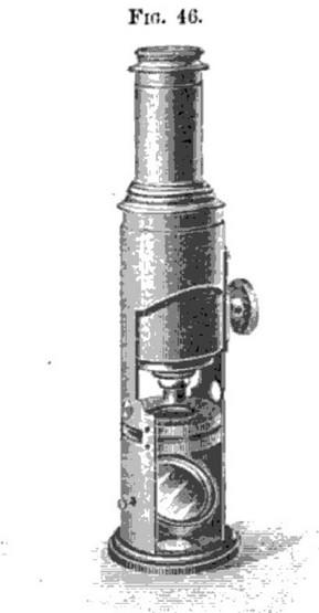 Martin drum microscope