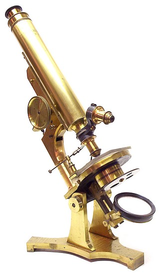 T. H. McAllister, N. Y. The Professional Model Microscope c. 1878