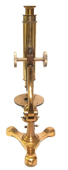The McIntosh Battery and Optical Co., Chicago. The Scientific Microscope No. 2