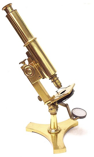 Lyman D. McIntosh, Chicago (unsigned). Pat. March 13, 1883. Microscope for a Solar and Stereopticon Combination, c. 1885