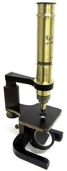 G. & S. Merz Munchen N:726.  Middel model�microscope, �c. 1865