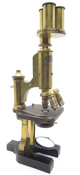 Ed. Messter Universal Bacteria   Microscope