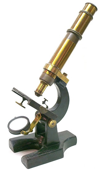 Miller Bros., New York (unsigned). The Student Model Microscope, c. 1879
