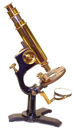 "Bausch & Lomb Optical Co. ""The Model"" microscope"