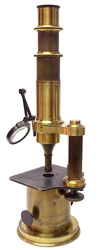 Nachet Opticien, rue Serpente 16, Paris. Drum Microscope, c.1850