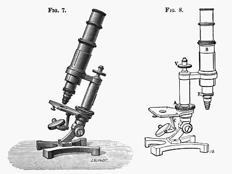 Portable travelling microscope: Nachet, 17 rue St. Severin, Paris. c. 188/></span> </td> <td width=
