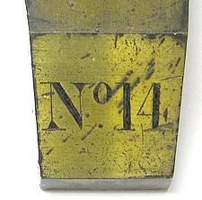 serial number 14