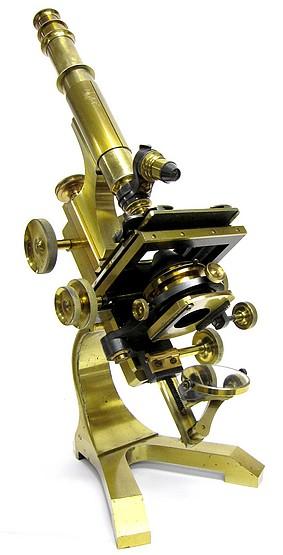 "Pillischer, London # 5692. ""The Kosmos"" model microscope, c.1895"