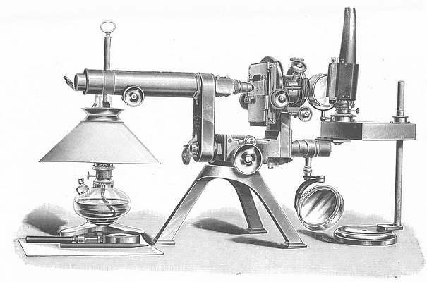 Powell & Lealand, The No.1 monocular model microscope