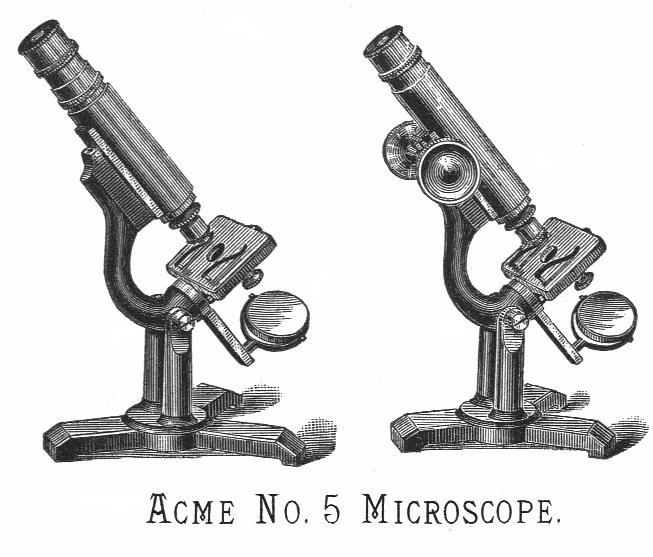 Queen Acme No5 microscope