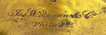 James W. Queen & Co., Phila., # 1853. The Acme No. 4 Model Microscope